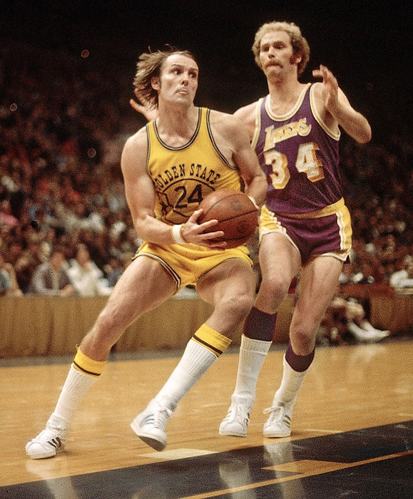 Rick Barry.  And Kevin Love's dad. aka Will Ferrell