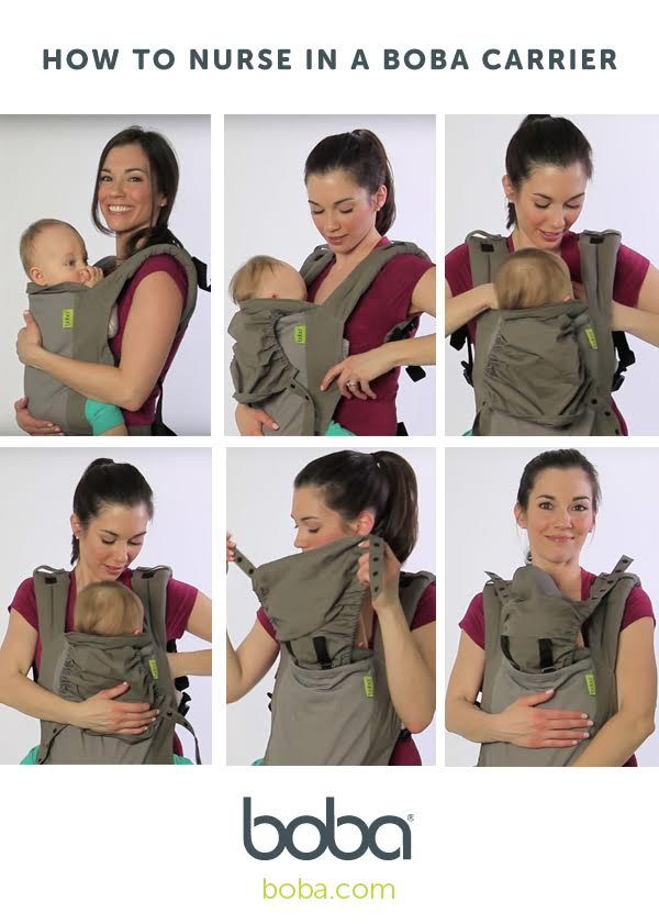 boba baby carrier instructions