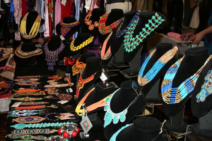 One of the exuberant stalls at Shopaholic's Day Out 2012.