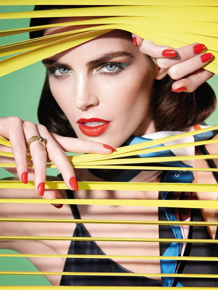 Hilary Rhoda by Enrique Vega for Vogue Taiwan January 2017