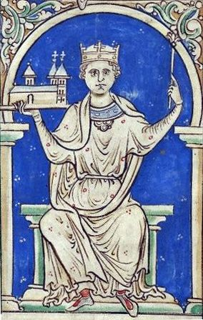 Stephen (c. 1092/6 – 25 October 1154), often referred to as Stephen of Blois, was a grandson of William the Conqueror. He was King of England from 1135 to his death, and also the Count of Boulogne in right of his wife. Stephen's reign was marked by the Anarchy, a civil war with his cousin and rival, the Empress Matilda. He was succeeded by Matilda's son, Henry II, the first of the Angevin kings.