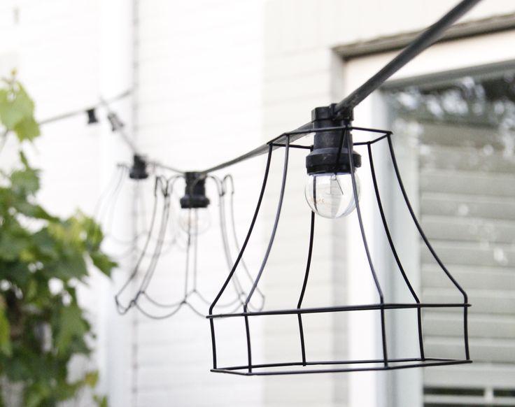 Lampenkapjes voor het versieren van je lichtsnoer voor buiten of binnen!