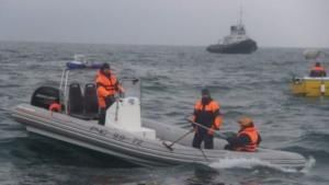 Pencarian Korban Jatuhnya Pesawat Militer Rusia di Laut Hitam