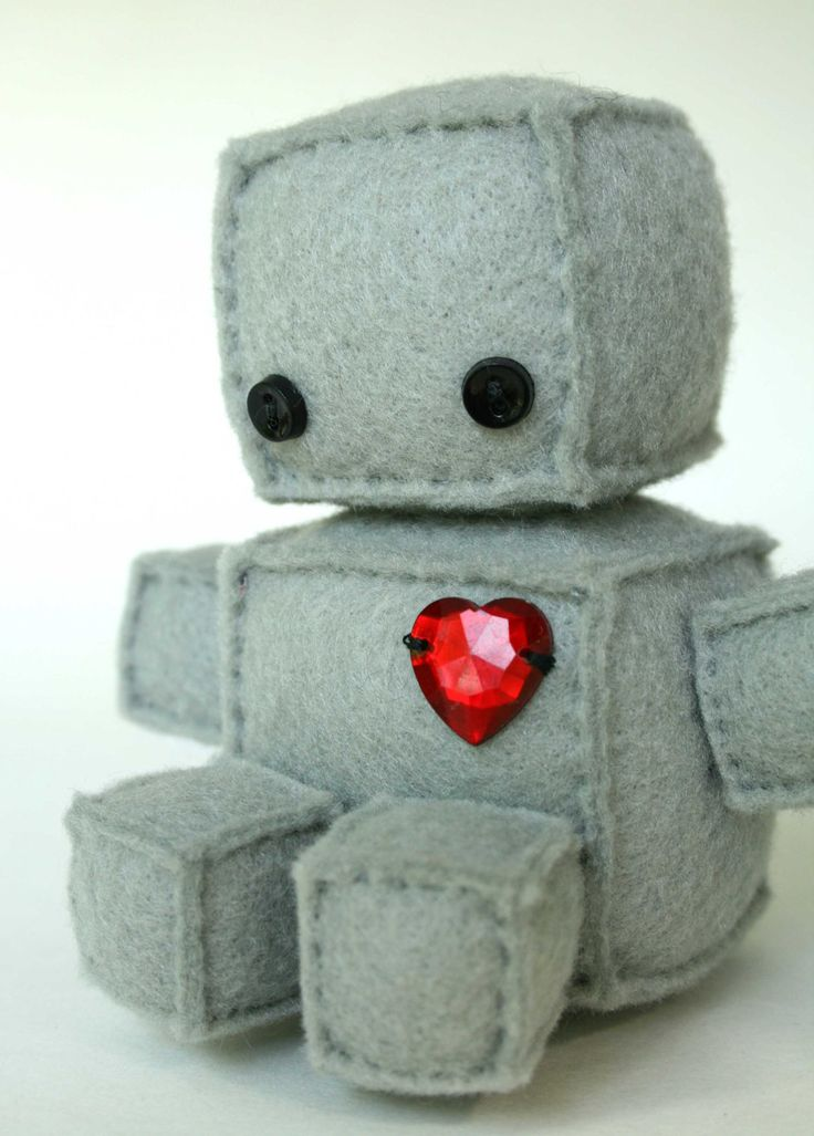 Felty Robot Goodness This Tickles My Fancy Pinterest