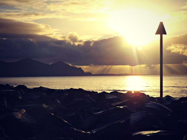 Dinas Dinlle Beach, North Wales