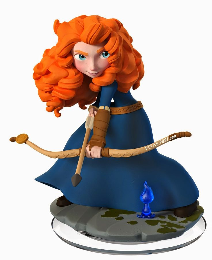 Disney Infinity 2.0 - Merida and Maleficent High Resolution Character Images  http://www.pixarpost.com/2014/05/disney-infinity-20-merida-and.html