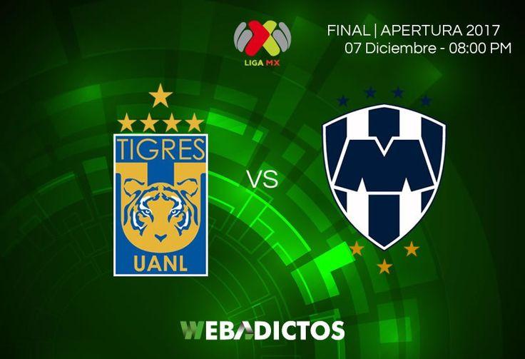 Tigres vs Monterrey, Ida de la Final Apertura 2017 ¡En vivo por internet! - https://webadictos.com/2017/12/07/tigres-vs-monterrey-final-apertura-2017-ida/