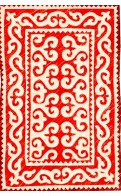 this would make an awesome rug in a white room with whimsical colorful accents