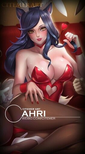 Bunny girls volume II by Citemer : Ahri | League Of ...