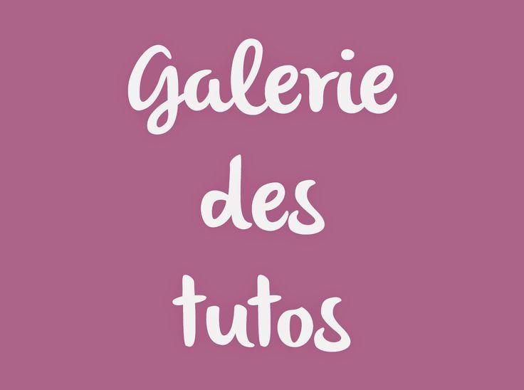 DIY - Tutoriels : Galerie des tutos couture et bricolage de *Tadaam! …