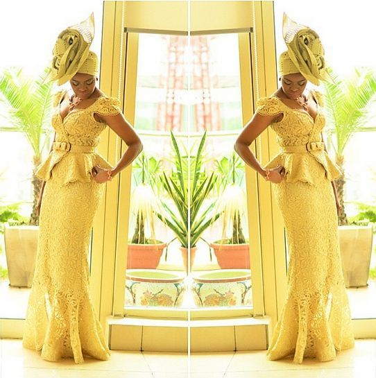 Fashion Designer Deola Sagoe Wears Traditional Outfit with a Twist - Wedding Digest Naija