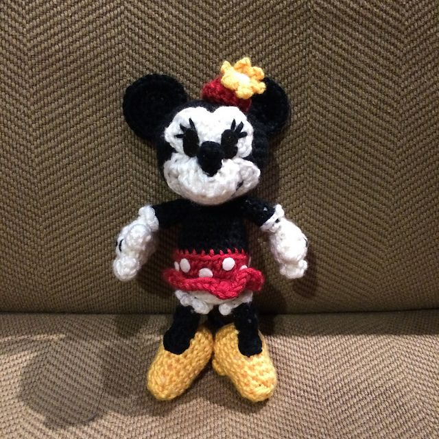 Ravelry Classic Minnie Mouse Pattern By Megan Kreiner