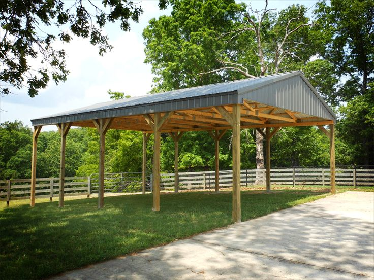 25 best ideas about post frame building on pinterest for Open barn plans