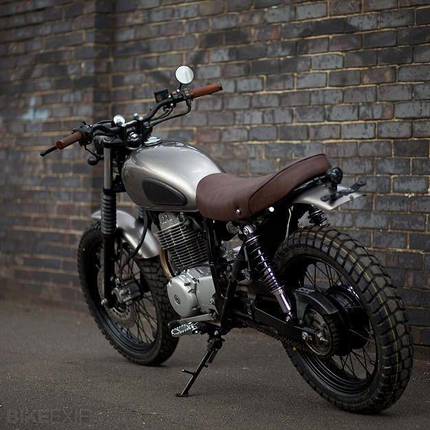 Honda CL400 custom motorcycle