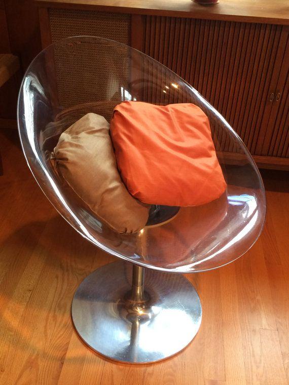 EROS Chair // Lucite Chair // Kartell // by ModernaireMCMStudios