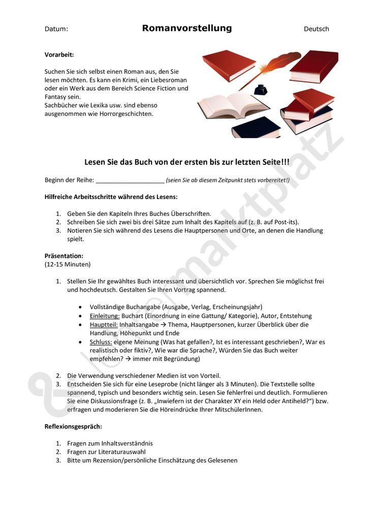 Kombiangebot: Buchvorstellung (Vorbereitung/Auftrag + begleitender Hörauftrag); Kriterien, word + pdf - Seite 1