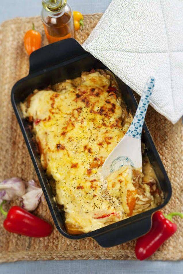Krämig gratäng till fest och vardag. Servera gärna tillsammans med ris, pasta eller en matig sallad.