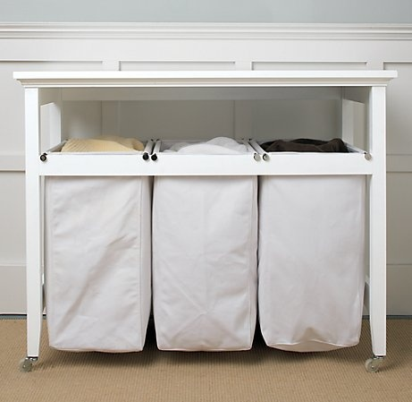Laundry hamper hall table laundry cleaning