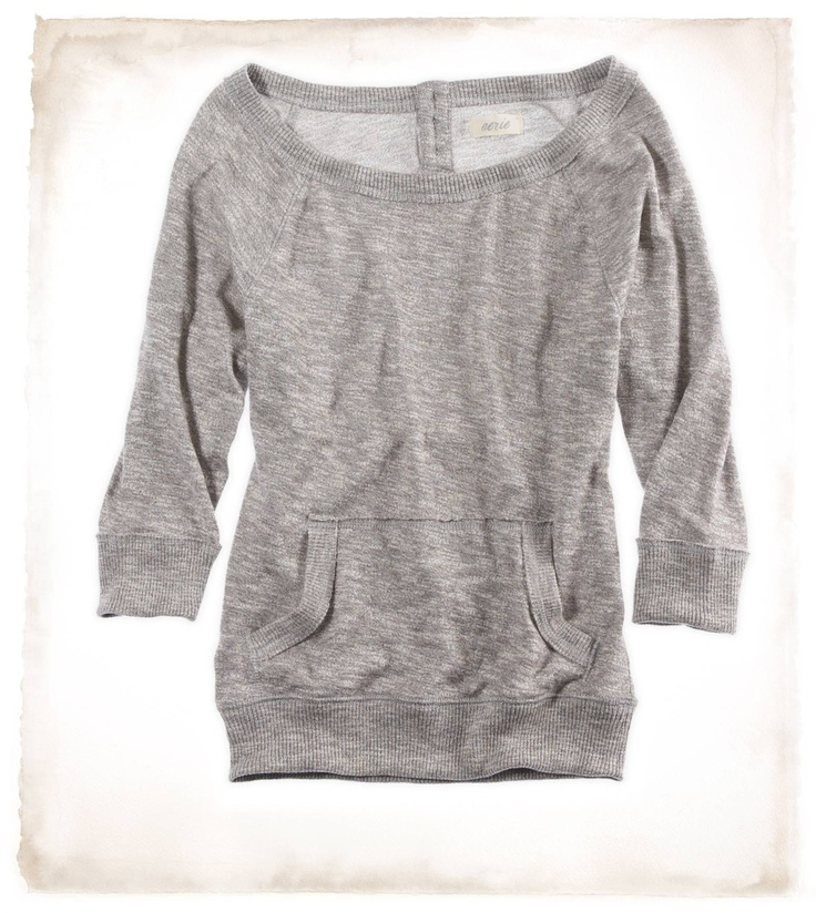 $30 slouchy wide neck shirt. yes.