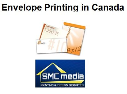 SMC Media offers best envelope printing services and solutions in Canada.