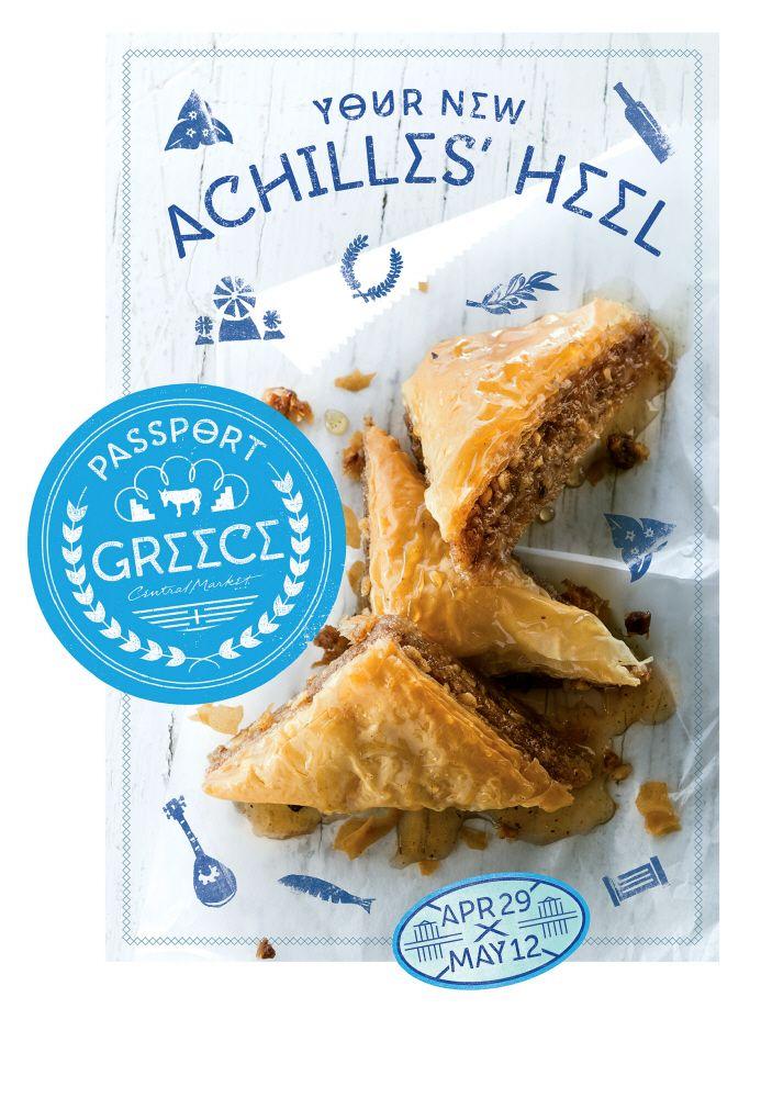 Central Market Passport Greece Event by garrett owen at Coroflot.com