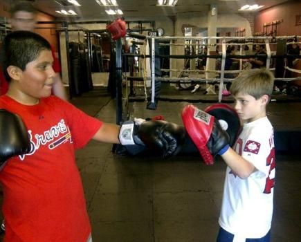 """The """"Sweet Science"""" is a great way for kids to get excited about #fitness and confidence building.  For our #Atlanta Families:  $59 for One Month Unlimited Kids' Boxing Classes at Delgado Boxing - Ages 6-12 ($139 Value - 58% Off)"""