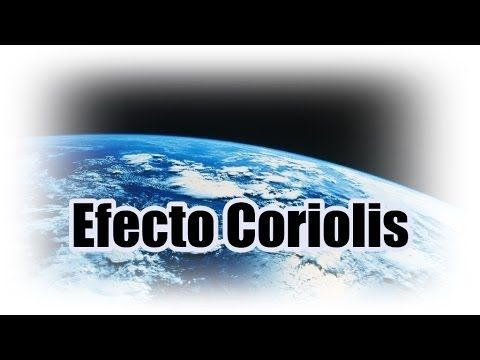 El efecto de Coriolis en 2 minutos.