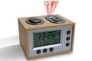 ΠΑΡΤΟ ΛΙΓΟ ΑΛΛΙΩΣ  : Ρετρό Επιτραπέζιο Ρολόι - Ξυπνητήρι, με Projector,...
