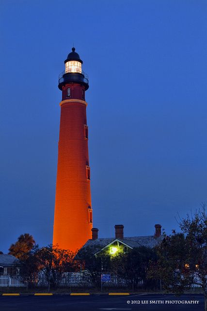 Ponce Inlet Lighthouse, Daytona Beach, FL.