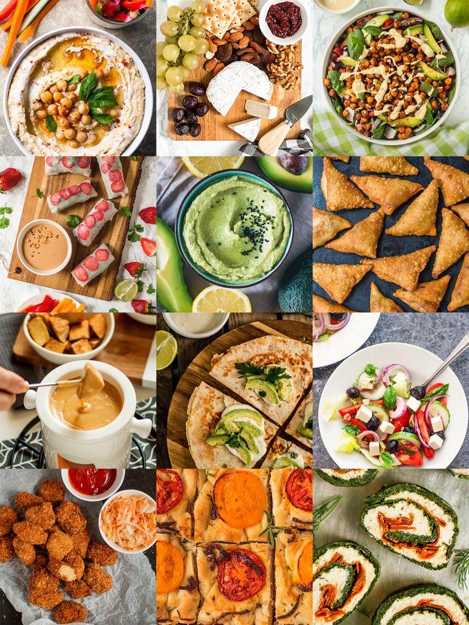 Mniumniu Kuchnia Roslinna 30 Pomyslow Na Weganskie Imprezowe Przekaski Food Recipes Salad