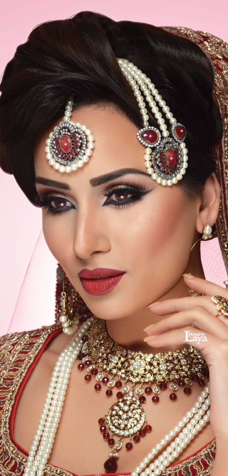 Ethnic Bridal Makeup : 1673 best images about its traditional... on Pinterest ...
