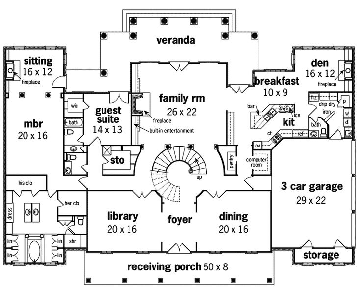 Le Claire Georgian Home House Plans Georgian Homes And