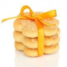 Biscoitinhos Amanteigados de Laranja - Receitas de Mãe