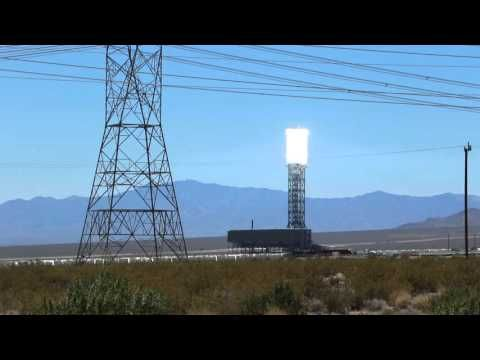 The Solar Farm is located on the Border of AZ & CA. The world's largest solar thermal power station at Ivanpah in California.