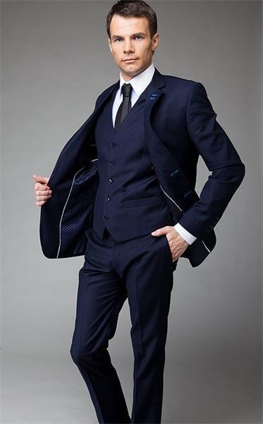 Мужской пиджак темно серого цвета
