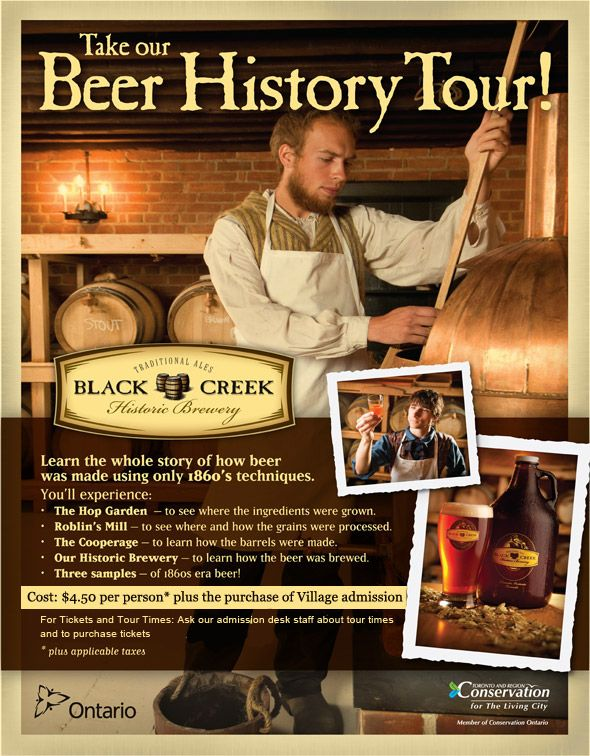 Black Creek Brewery Beer History Tour