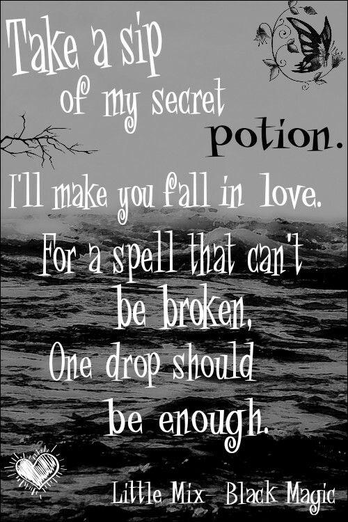 Little Mix Black Magic lyrics