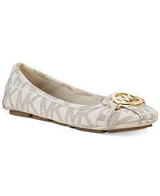 MICHAEL Michael Kors Fulton Moc Flats - Flats - Shoes - Macy's size 7