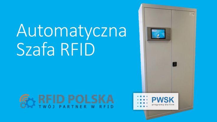 Inteligentna automatyczna szafa magazynowa RFID