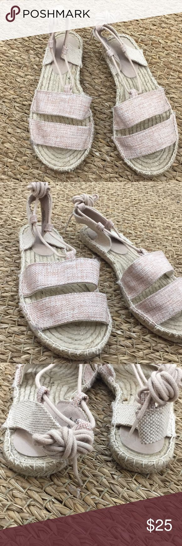 🐣ASOS Janica Tie up Espadrilles Beautiful ASOS Janica tie up espadrilles. Brand new!  ✅Offers Considered! 🔔 Please ask questions before you buy 💯Bundle and save 20% on 4 items or more. 💌All sales are final! 🚫No trades or holds!  👇🏽Please use the blue offer button at the button of page. ASOS Shoes Espadrilles