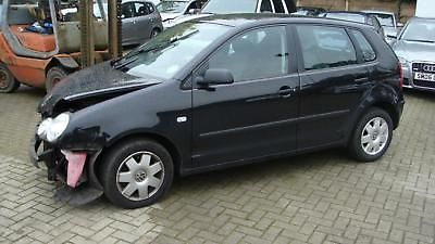 eBay: 2004 54 REG VW POLO BLACK 1.2 PETROL MANUAL 5DR SELLING CAR FOR SPARES ONLY #carparts #carrepair