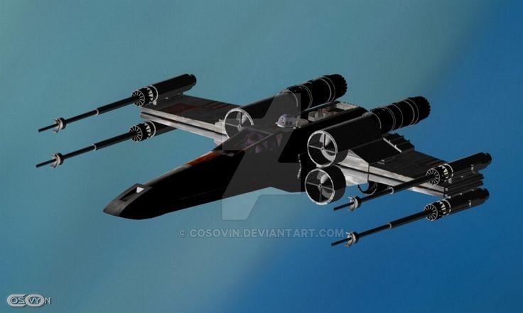 11 Star Wars - XWing by cosovin.deviantart.com on @DeviantArt