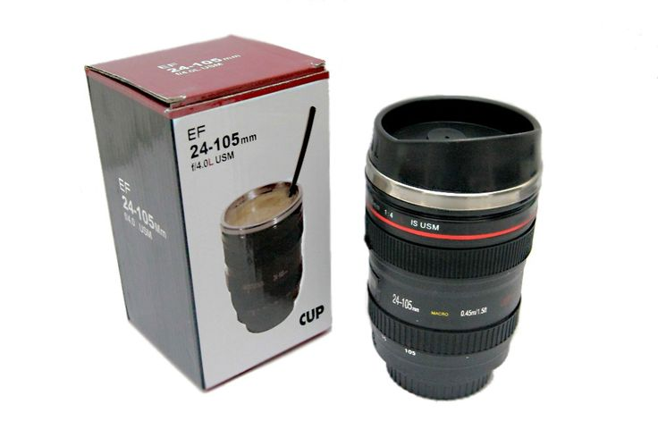 Mug / Gelas Lensa Kamera murah dan unik sangat cocok bagi anda yg gemar / suka dengan fotografi.Dengan bentuk yg menyerupai kamera beneran sehingga dapat anda jadikan sebagai koleksi atau pun sebagai teman dalam menikmati minuman dingin. Rp 100.000