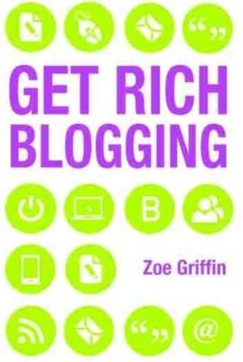 Get Rich Blogging by Zoe Griffin Paperback Book (English) #ad