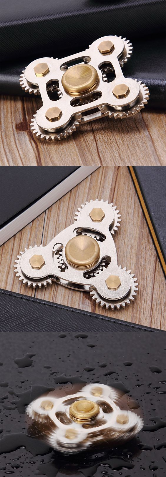 Stress Relief Toy Gears Fingertip Fidget Spinner