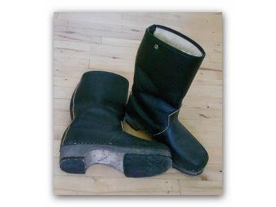 70'ernes træsko støvler
