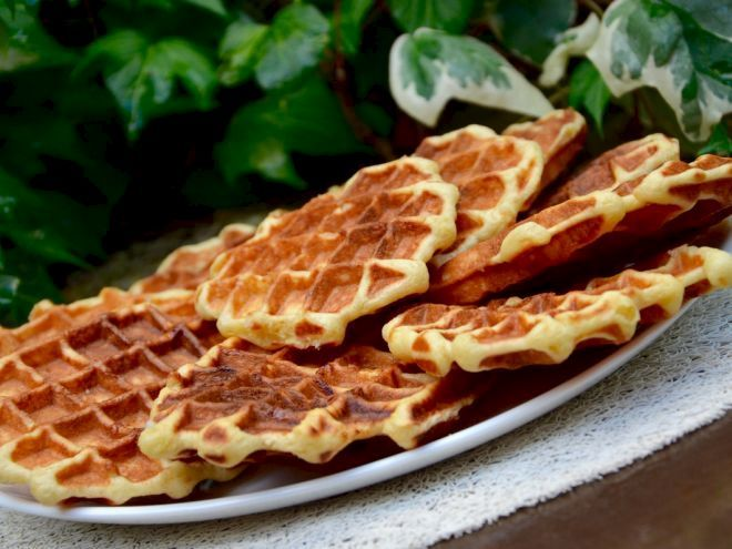 Recette Dessert : Gaufres de belgique par PtitecuisinedePauline