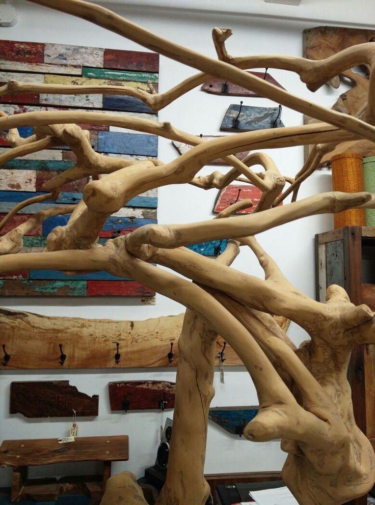 Welcome to the jungle 🐅🐍🐵🎶 A close up of our Coffee Tree Sculpture's wild and intermingled beauty.  #naturesart #organicdesign #bringtheoutdoorsin #InteriorDesign #rusticdecor #woodart #rusticaccents #treesculpture #woodsculpture #organicdesign #salvagedwood #shoponline #Zenporium  www.zenporium.com
