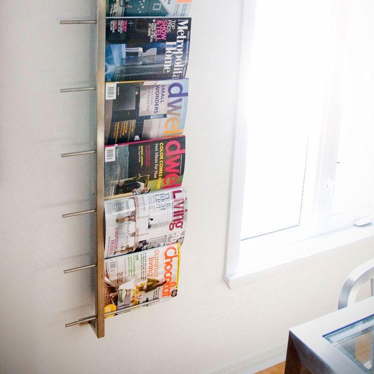 1000 Ideas About Magazine Rack Wall On Pinterest Modern Magazine Racks Magazine Racks And
