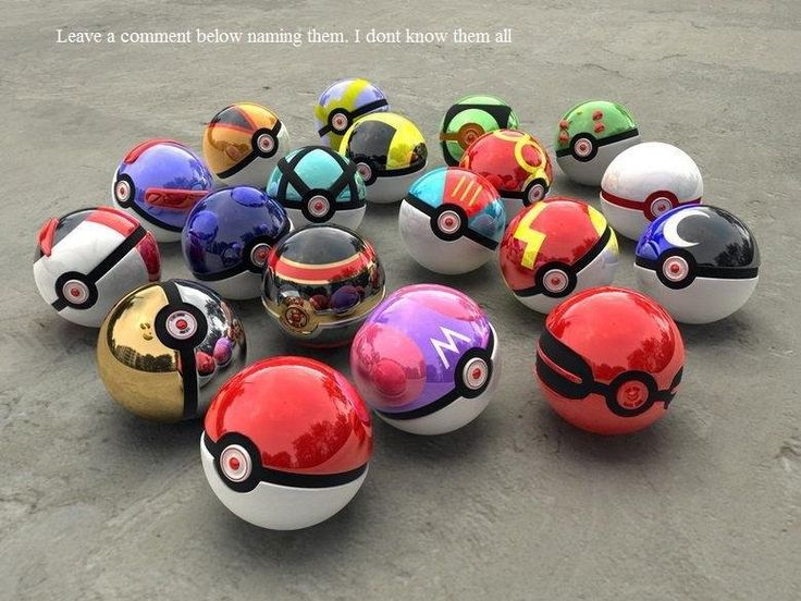 Real PokeBalls
